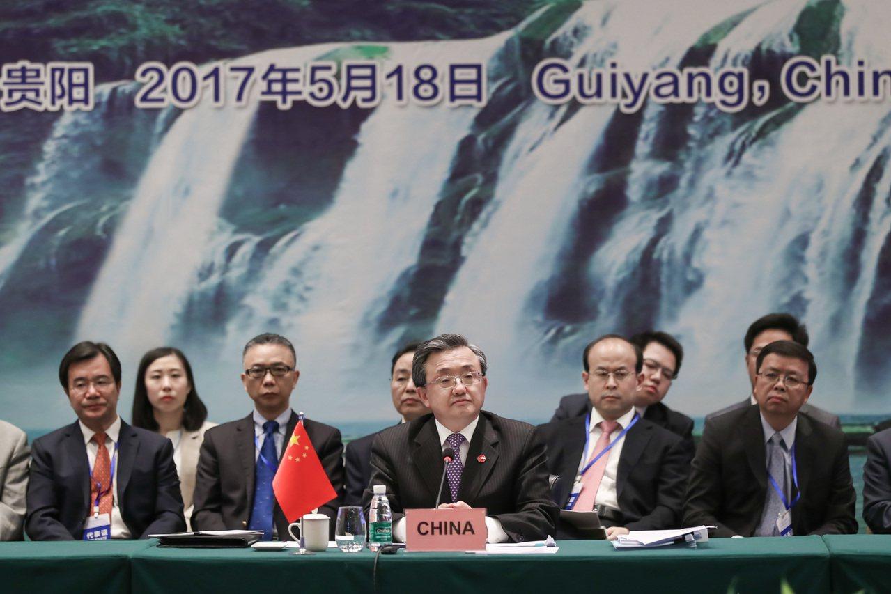 17日至18日,中國大陸與東協國家在貴州省貴陽市舉行落實《南海各方行為宣言》第1...