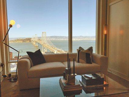 9樓的宴會廳可供住客辦各種派對和酒會。(記者黃少華/攝影)