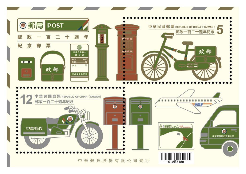 示意圖。中華郵政郵資確定調漲,交通部核定郵資調漲案,2.5元和3.5元郵票將絕版...