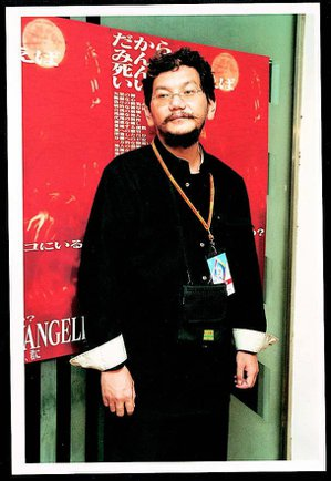 95年以「新世紀福音戰士」奠定日本動畫影壇地位的導演庵野秀明。聯合報資料照片/記...