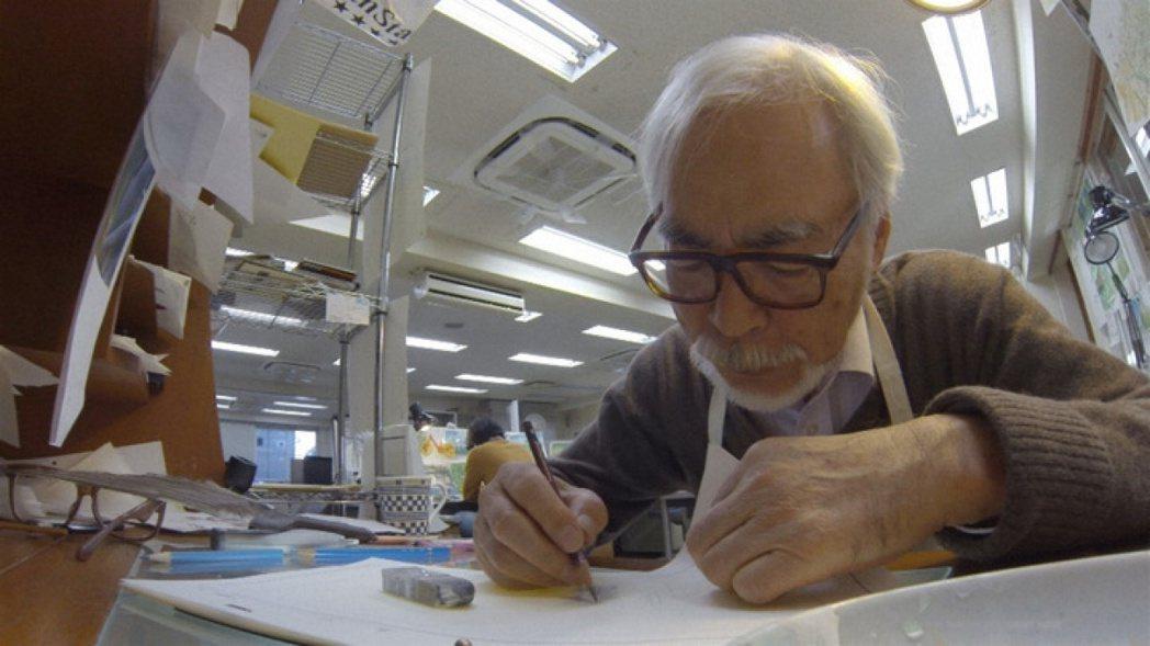 永不退休,宮崎駿發話畫到死。聯合報系資料照片