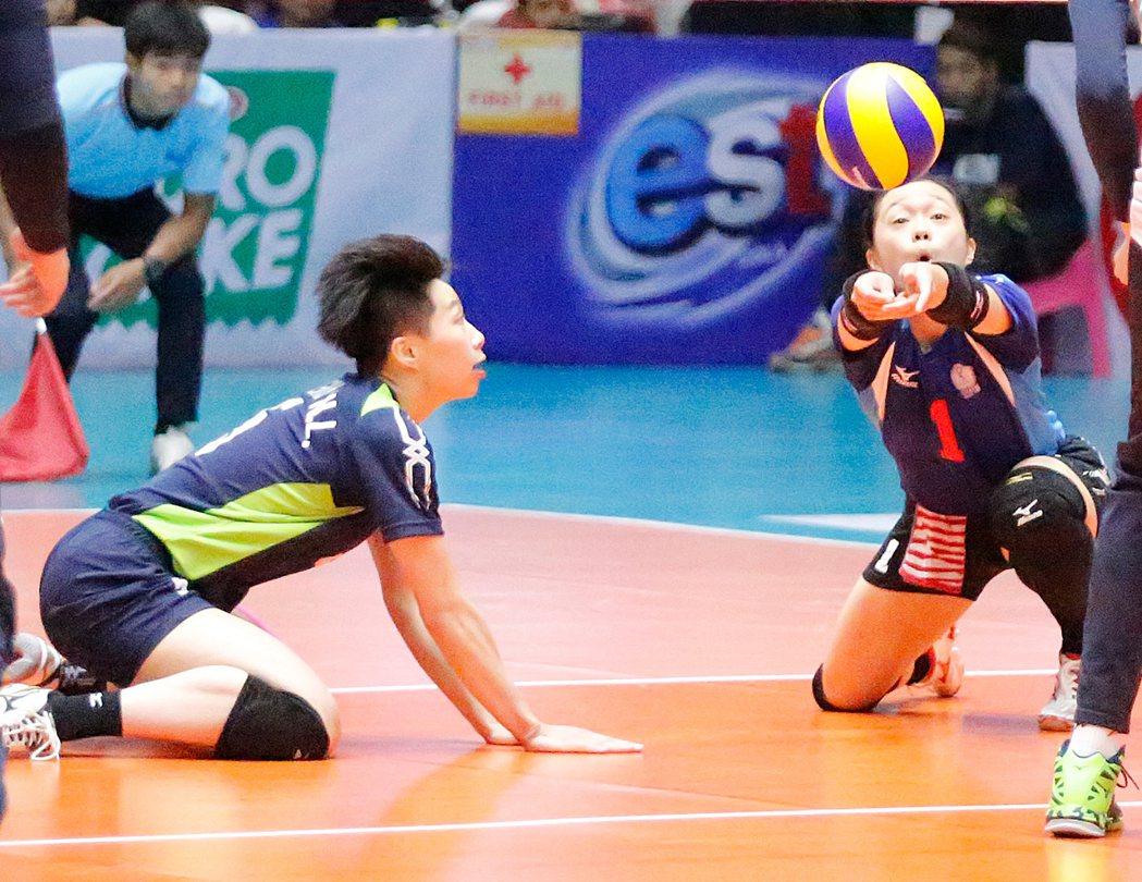 中華女排8強賽輕取伊朗隊。 圖/取自U23女排亞錦賽官網