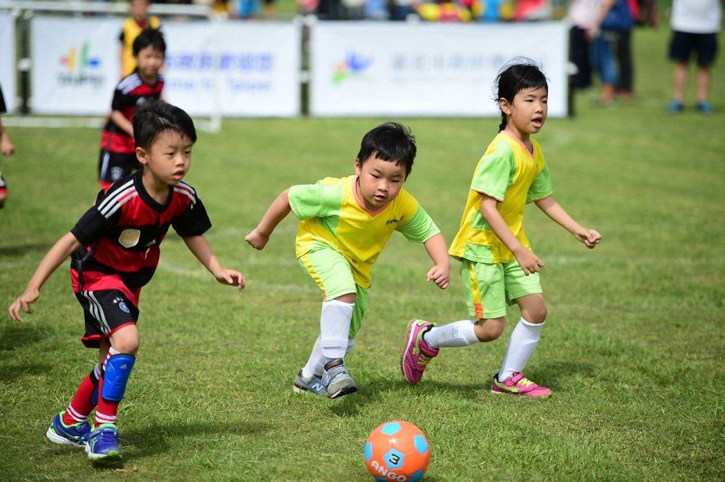 小選手們不放過任何機會勇往直前,相當認真可愛。圖/主辦單位提供