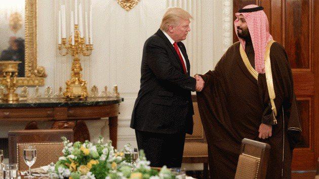 川普20日將宣布對沙國軍售案。美聯社