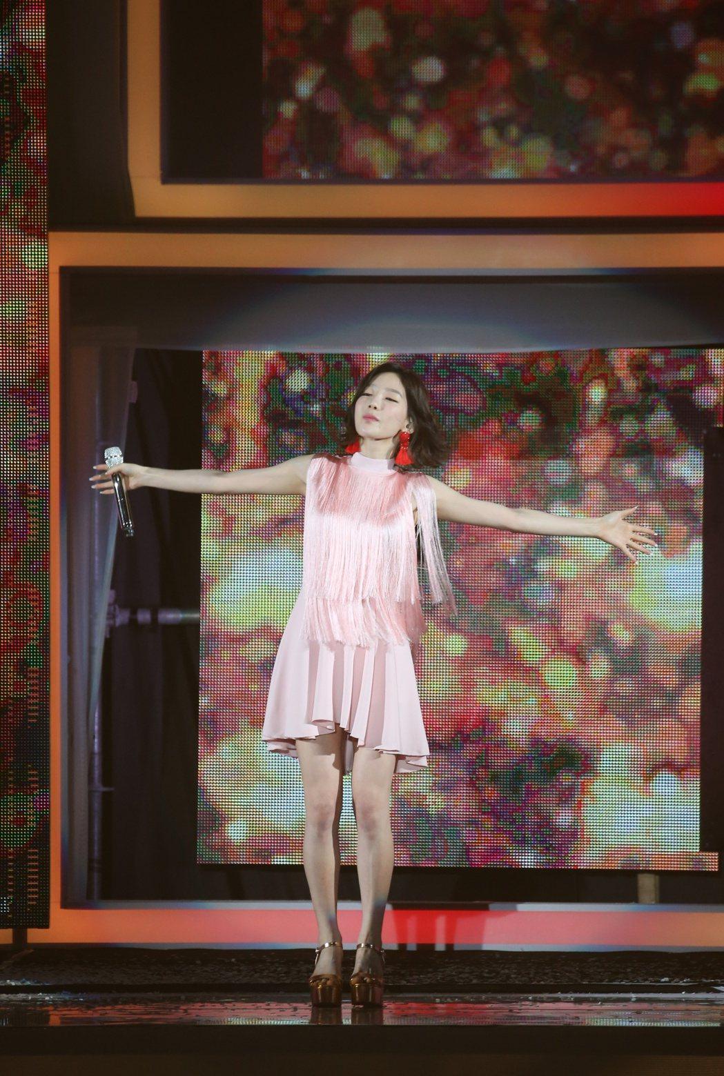 太妍演唱會。記者陳立凱/攝影