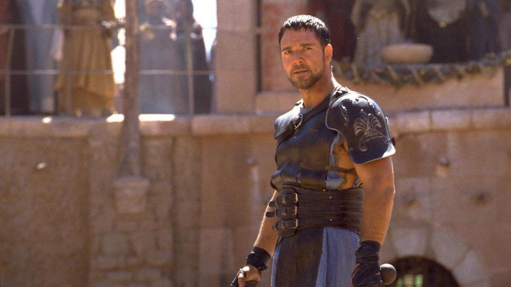 羅素克洛以「神鬼戰士」成為好萊塢一線巨星。圖/環球提供