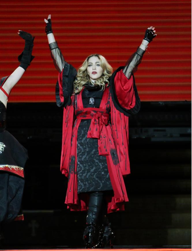 西洋流行樂天后瑪丹娜。圖/聯合報系資料照