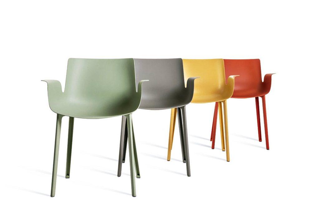 品牌Kartell的Piuma座椅。 紅點/提供