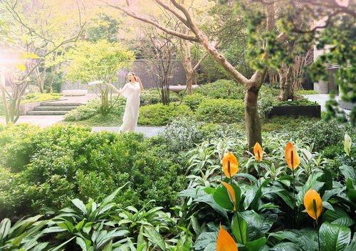 [三輝•歌劇苑]千坪花園宅實景拍攝 圖/三輝歌劇苑 提供