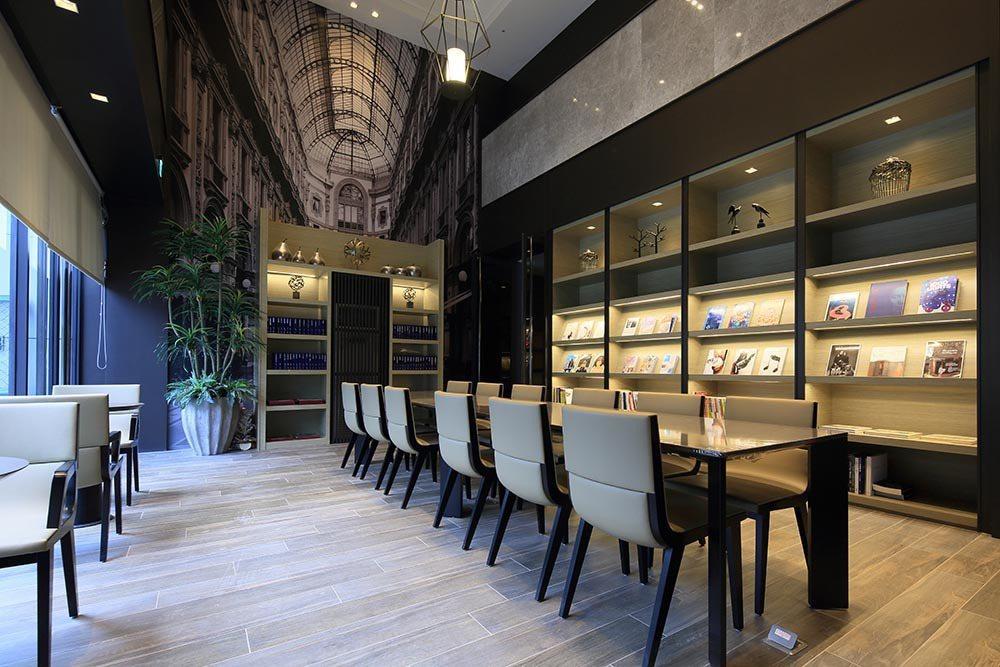 歐風書坊Lounge實景拍攝 圖/三輝歌劇苑 提供