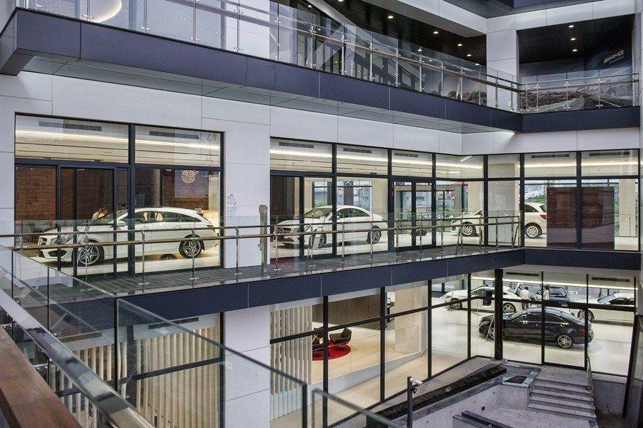 中彰賓士全新台中全功能旗艦據點規劃更導入Mercedes-Benz全新據點品牌建...