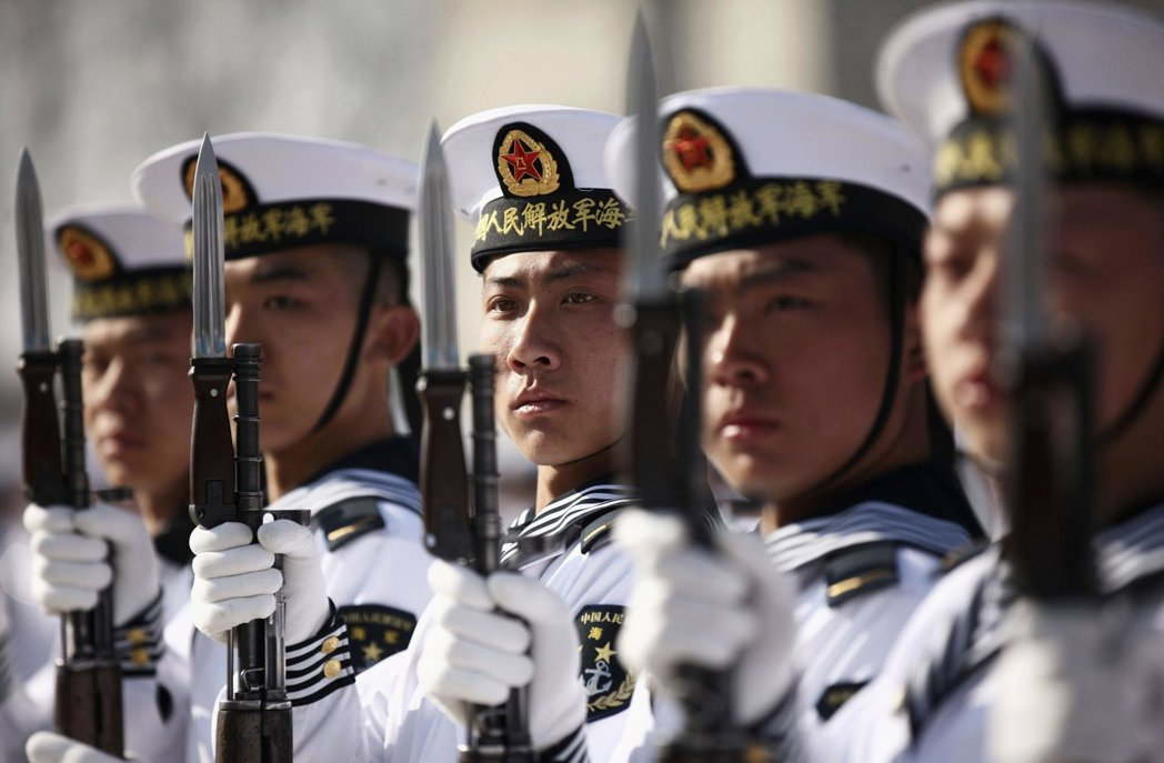 中國的海權,仍建立在宣傳的需要,而非堅實的需要。 圖/路透社
