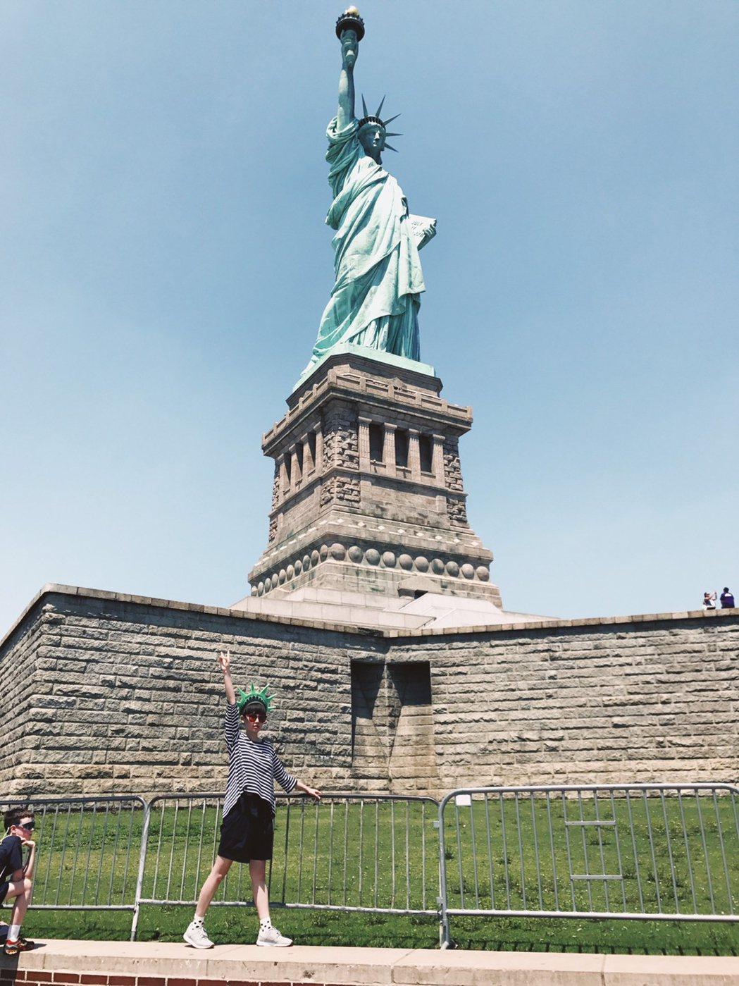 魏如萱紐約跑半馬達成。圖/好多音樂提供