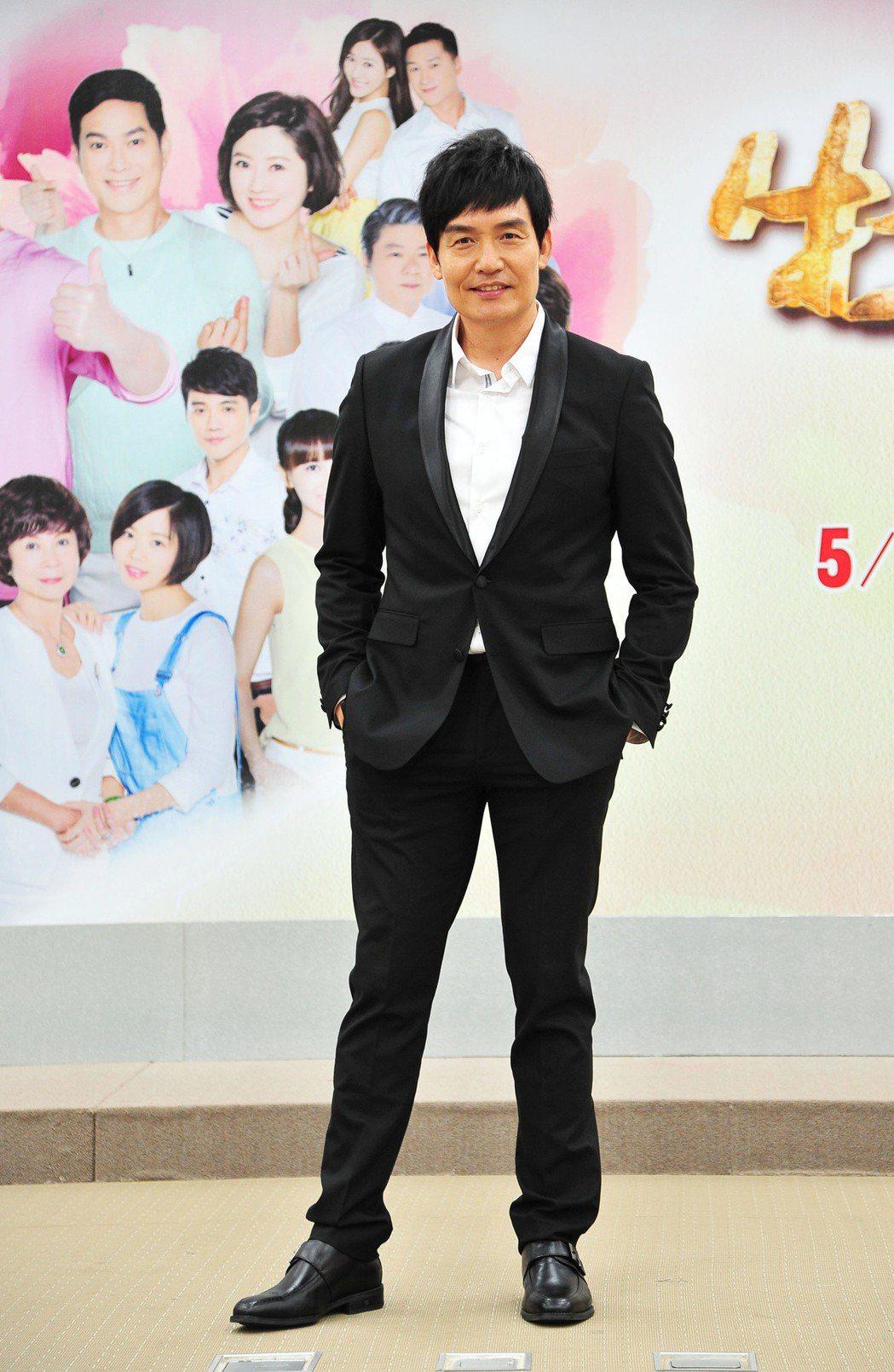 霍正奇戲中飾演孫淑媚的前夫。圖/台視提供