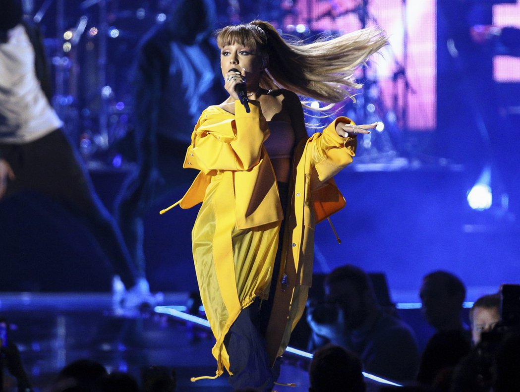 亞莉安娜在英國的演唱會發生爆炸案。 圖/美聯社
