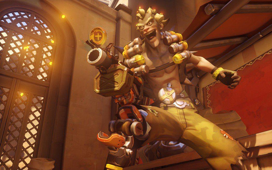 炸彈鼠:「我傷害金牌捏!」(設計對白) 圖/《鬥陣特攻》官網