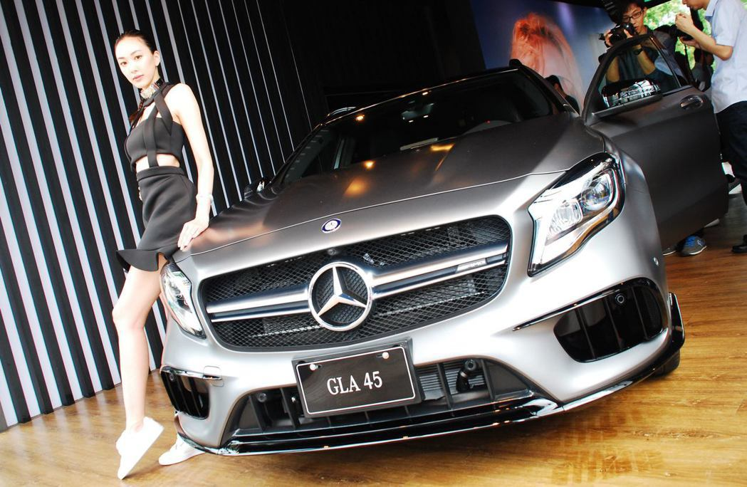 Mercedes-AMG GLA 45 4MATIC。記者林昱丞/攝影