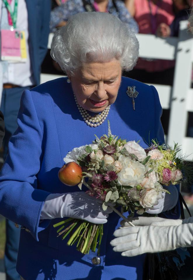 英國女王伊麗莎白二世幾乎年年到場。圖/擷自thesun