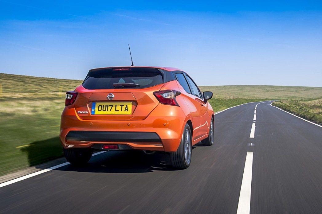 此次於英國登場的 Nissan Micra 1.0t 入門車型,是該車系最近新增...