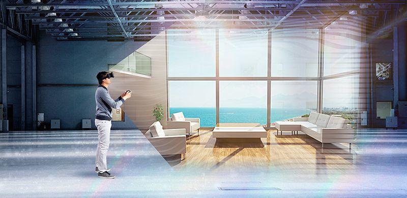VR賞屋讓效率升級。 益立信海外房產集團/提供