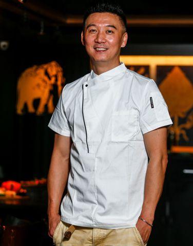 「泰集Thai Bazaar」主廚孫慶華。