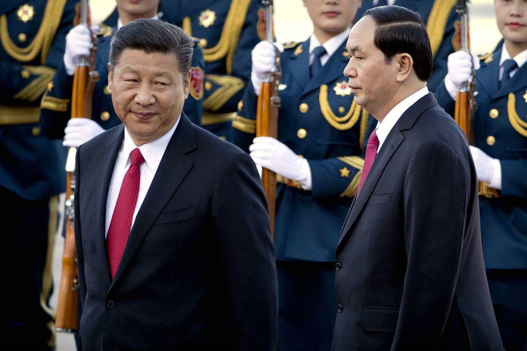 若將中越聯合公報的解讀,侷限於僅為兩岸關係考量將過於狹隘,近年中國越來越從整體區域戰略局勢運作兩岸關係,至少須將眼光拉大到南海議題的層面。 圖/美聯社