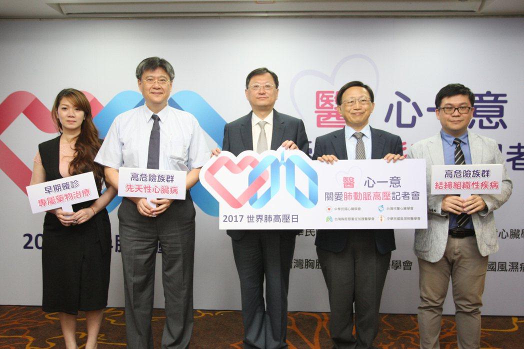 中華民國心臟學會、台灣胸腔暨重症加護醫學會、中華民國風濕病醫學會以及台灣兒童心臟...