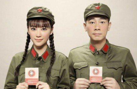 應采兒與陳小春婚後甜蜜已成網友心中典範。圖/取自微博