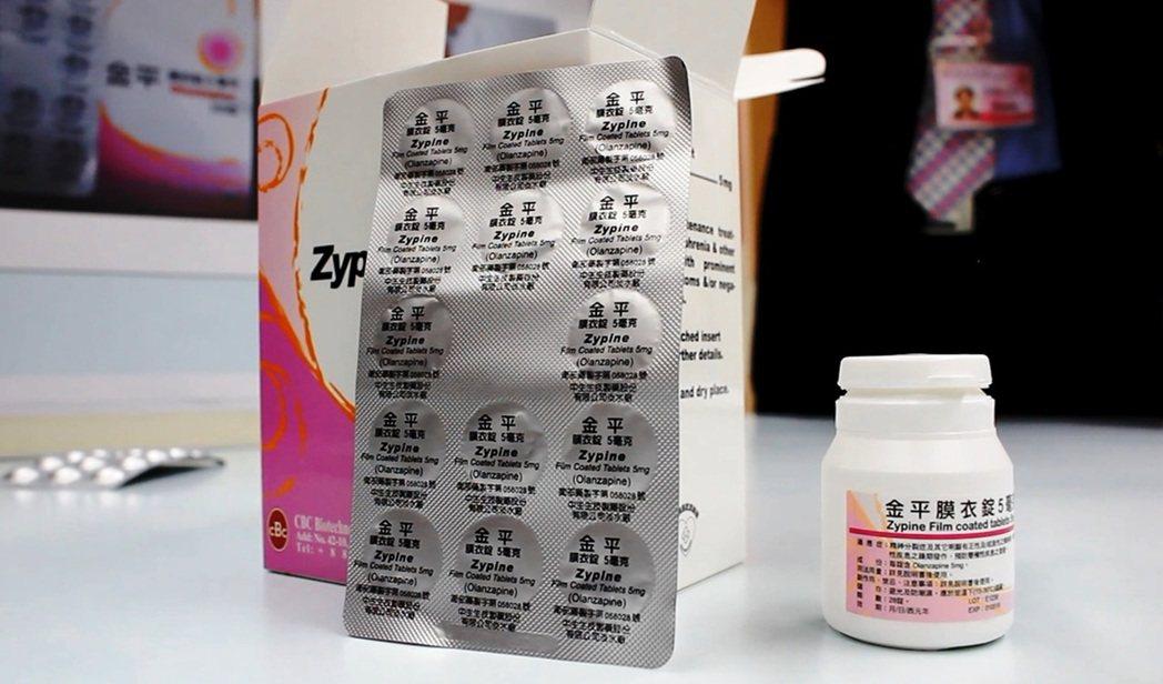 宇碩公司涉嫌將原本即將過期的金平膜衣錠5毫克(左),改藥品外包裝、效期和批號重製...