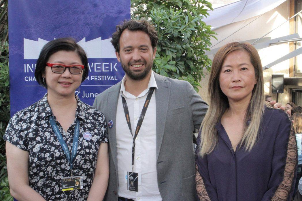 由台北市電影委員會與法國「巴黎創投-合製片計劃」合作的「台北-巴黎創投-合製片計