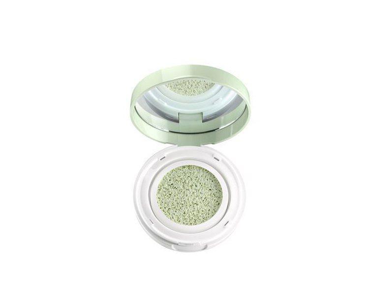 亮顏瞬效CC氣墊(薄荷綠),1,200元。圖/蘭蔻提供