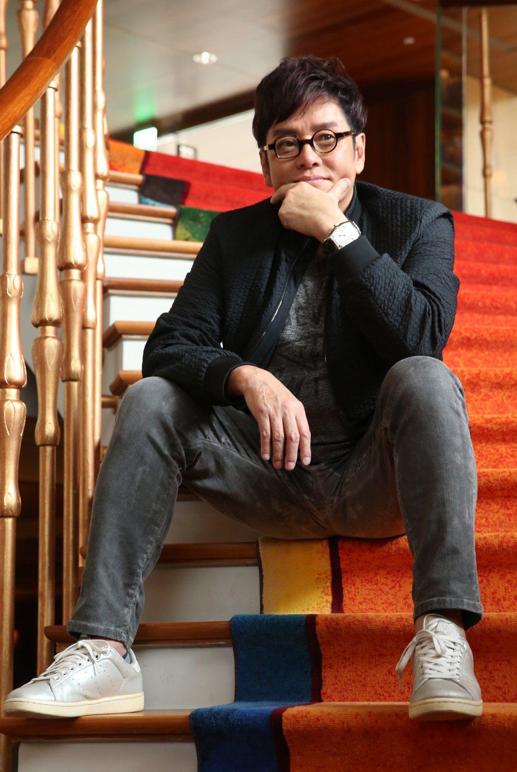 香港歌手「校長」譚詠麟推出新專輯《欣賞》,時隔10年後來台宣傳新作品。記者徐兆玄...