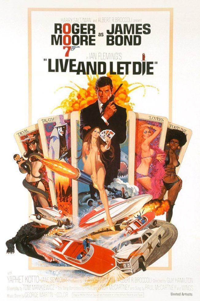 1973年《生死關頭》(Live and Let Die) 圖/取自IMDb網站