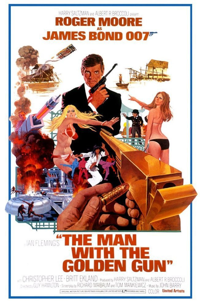 1974年《金鎗人》(The Man with a Golden Gun)。 圖...