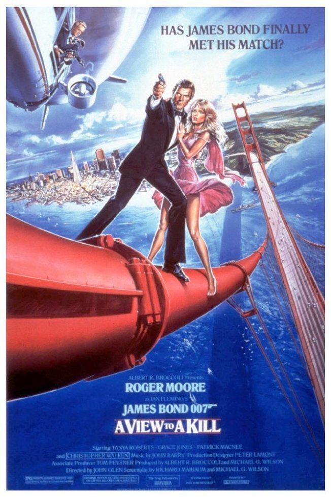 1985年《雷霆殺機》(A View to a Kill)。圖/取自IMDb網站