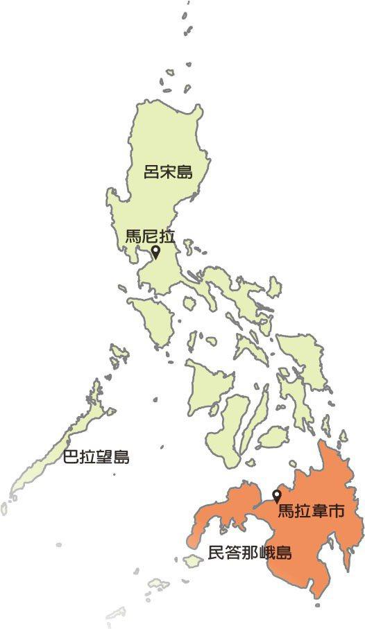 菲律賓南部民答那峨島上國家安全部隊日前與恐怖組織伊斯蘭國(IS)有關聯的民兵發生...