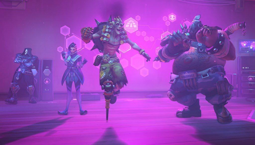 每個英雄還有專屬的舞蹈動作,並新增24個全新語音、25個噴漆與25個玩家頭像,包...