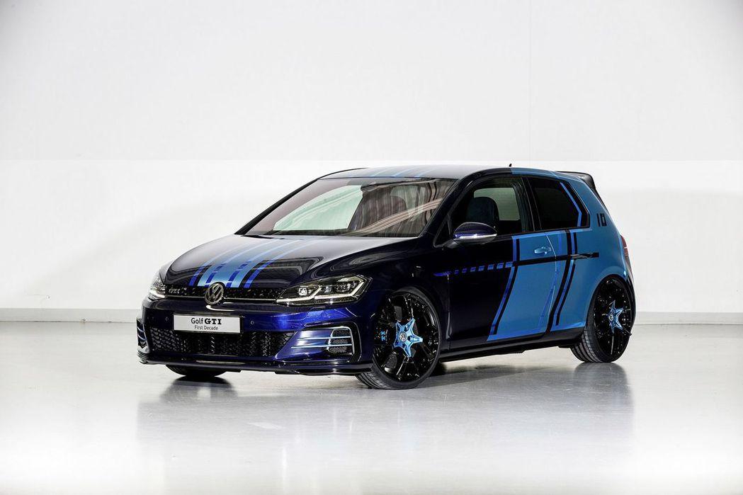 Volkswagen 於 Worthersee 年度會議發表 Golf GTI First Decade concept 概念車。 摘自 Volkswagen