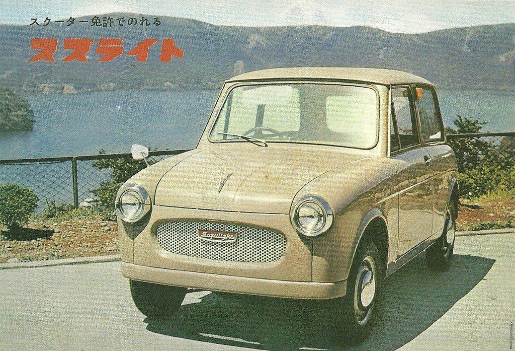 鈴木輕型車:1949年日本發展出的「輕型車,是為了提供戰後收入不高的日本民眾,一...