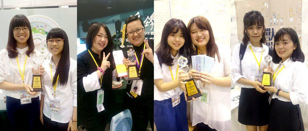 當宣布獲獎名單之後,中國科大參賽師生莫不激動興奮,此次七組入圍拿下了四個大獎,囊...