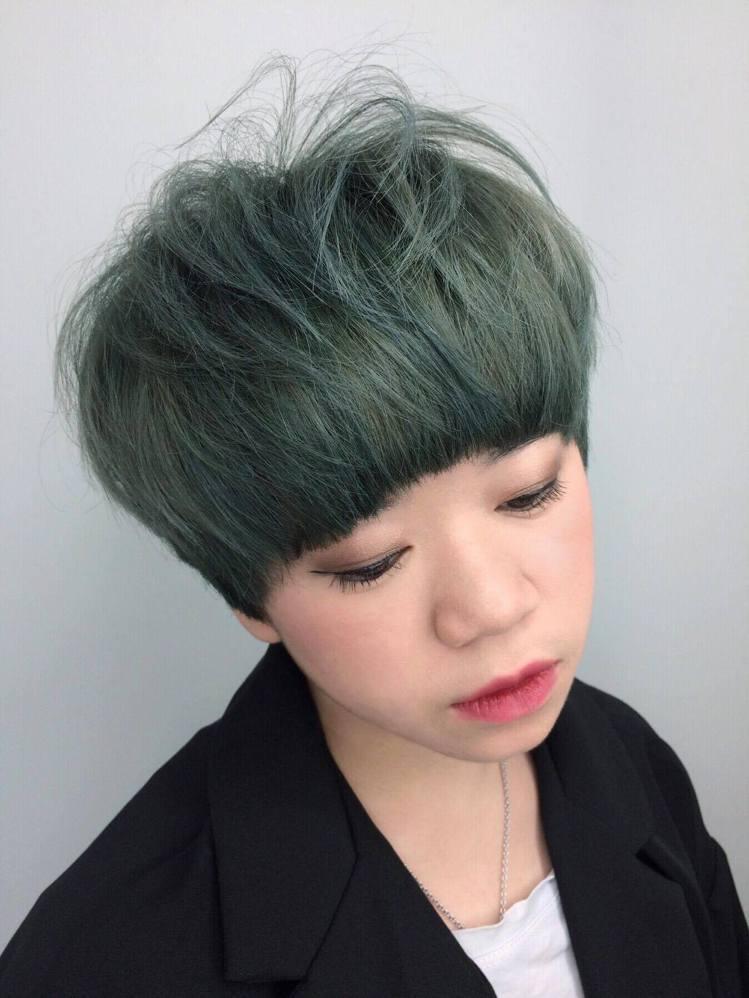 髮型創作/HAPPYHAIR嘉義興業店-Harden哈登。圖/HairMap美髮...