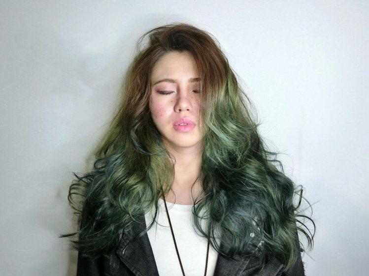 髮型創作/Dream hair design Rainbow館-賈柏尼。圖/Ha...