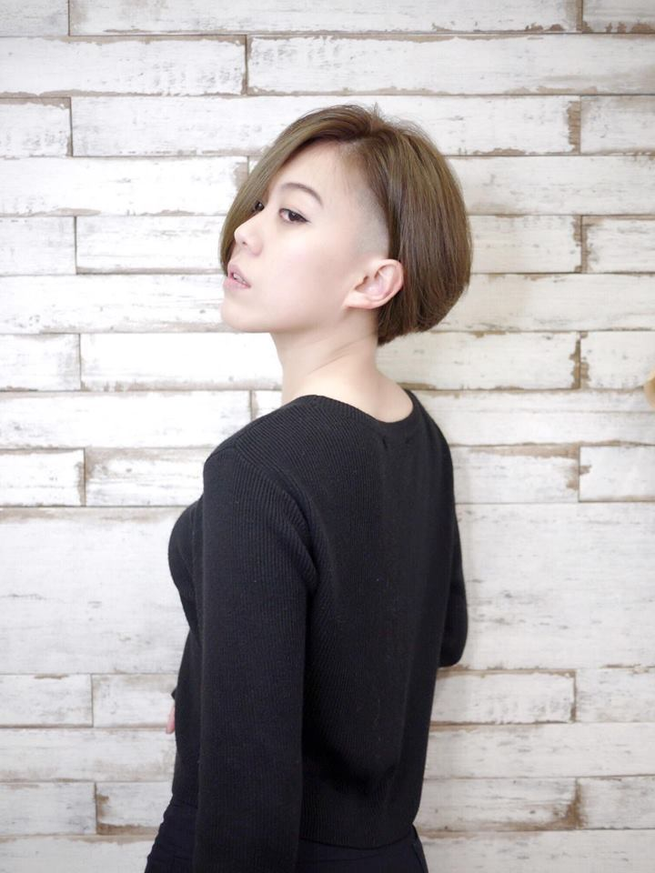 髮型創作/Happy Hair 北屯店-Ian Liao。圖/HairMap美髮...