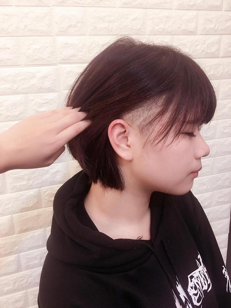 髮型創作/VIF hair salon-Queena Chen。圖/HairMa...