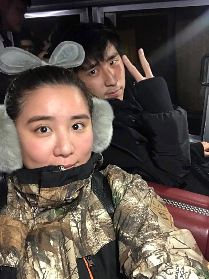 小禎(左)的弟弟安安被形容長得像趙又廷。圖/小禎臉書