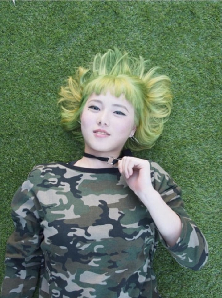 髮型創作/對應空間髮型藝術 中山店-Mica。圖/HairMap美髮地圖提供