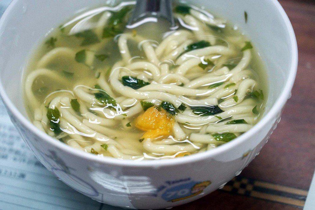 全台僅中部地區有食用「麻薏」的傳統,圖為麻薏麵。 圖/聯合報系資料照