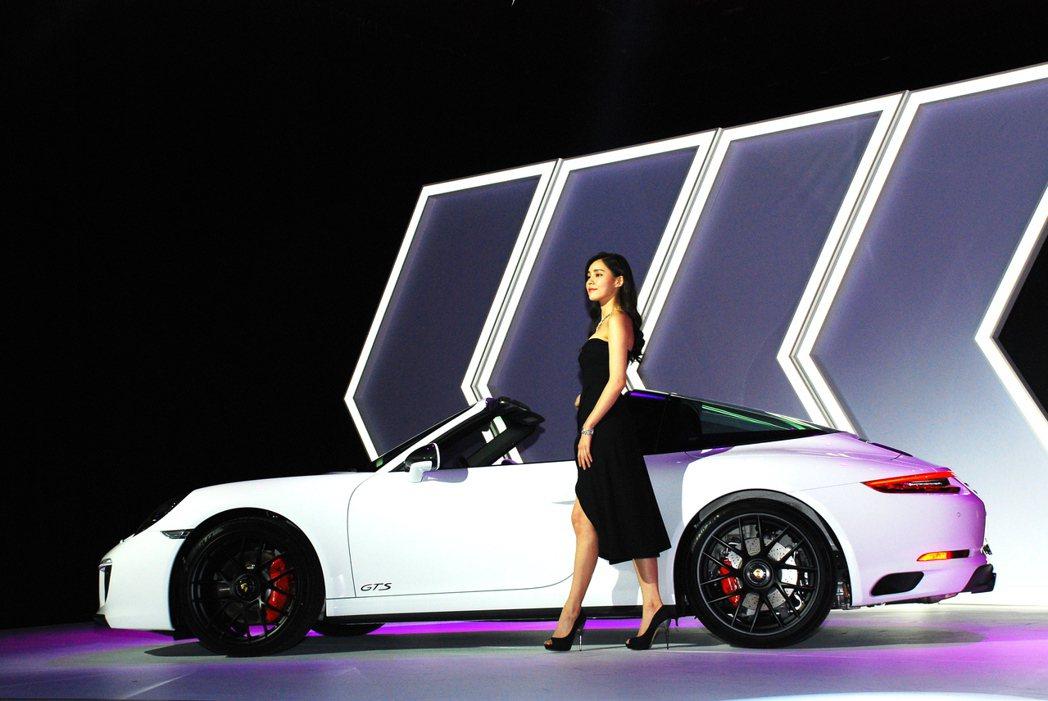 Porsche 911 Targa 4 GTS。記者林昱丞/攝影