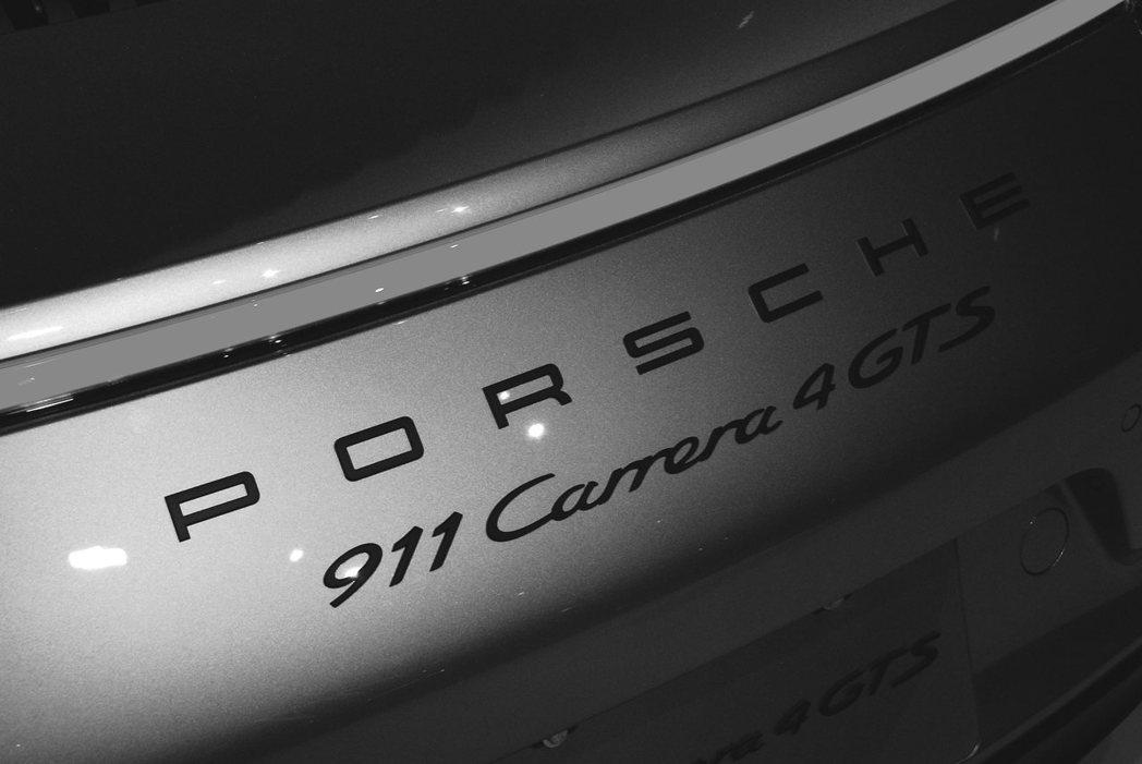 Porsche 911 Carrera 4 GTS。記者林昱丞/攝影