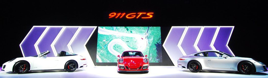 全新Porsche 911 GTS車系上市。記者林昱丞/攝影